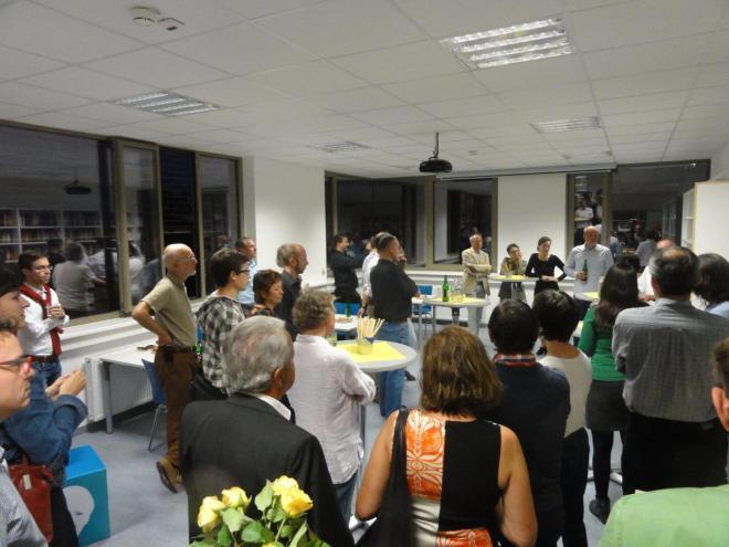 Housewarming-Party in der JBZ