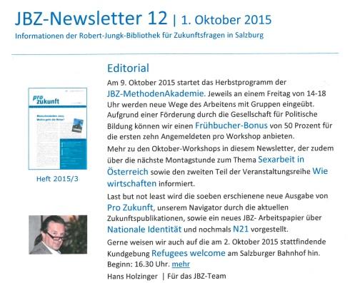 JBZNewsletter