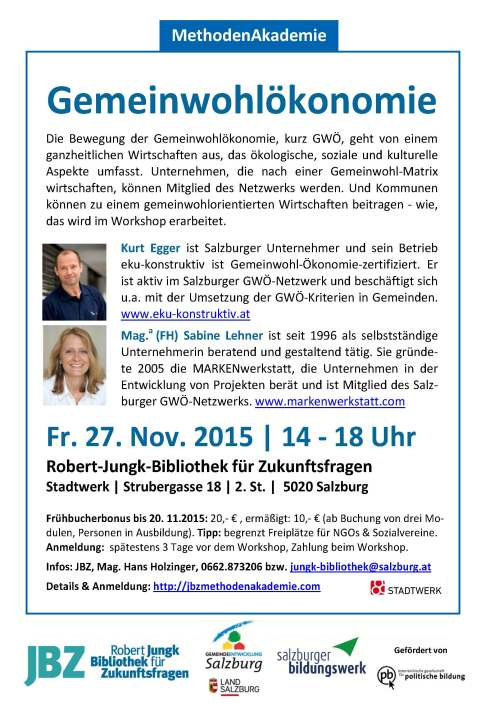 MethodenAakdemie_Geeinwohlökononie_EggerLehner20151127