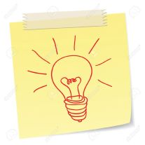 12033446-a-hand-drawn-bulb-symbol-on-a-notes-for-ideas-or-innovation-stock-photo